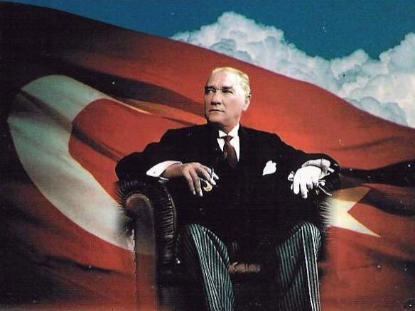 atatürk bayrak resmi
