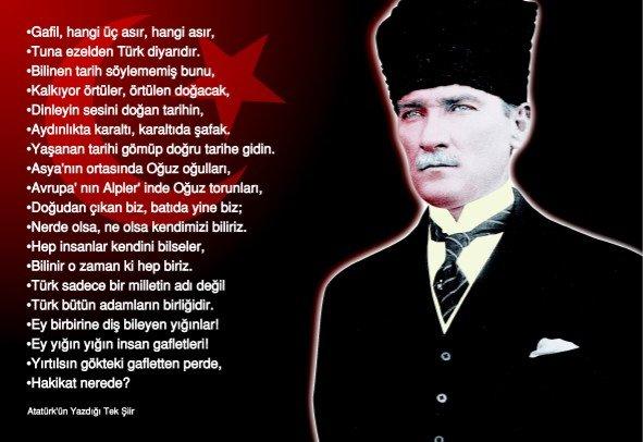 Atatürk Ile Ilgili 3 Kıtalık şiirler Denkbilgicom