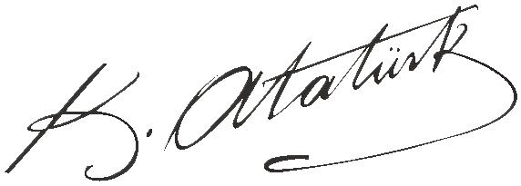 atatürkün imzası