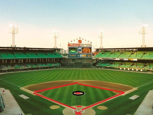 beyzbol sahası