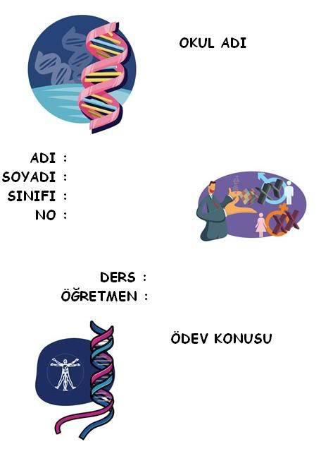 biyoloji ödev kapakları