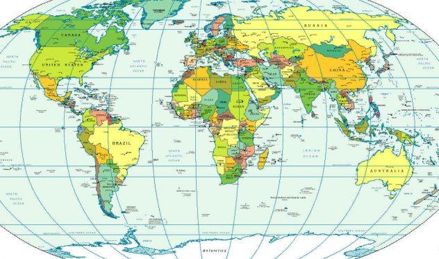 buyuk boy dunya haritasi