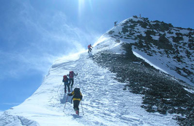 dağcılık sporu alpler