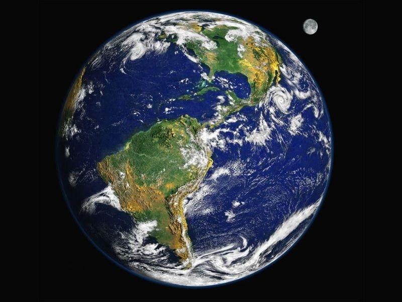 dünya uydu görüntüsü