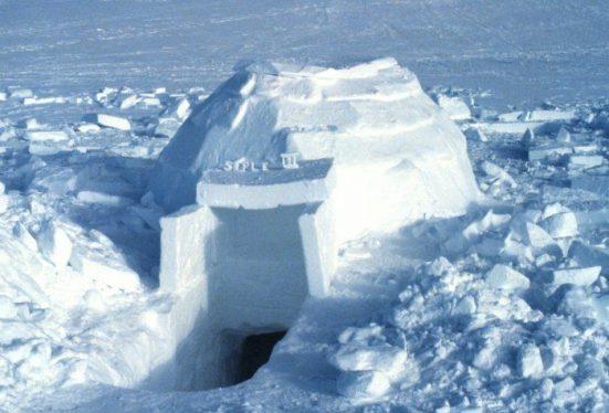 eskimoların evleri
