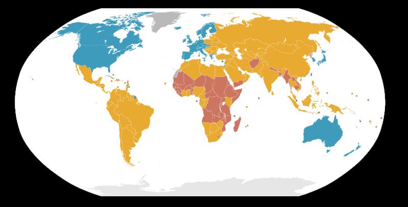 gelişmiş gelişmemiş ülkeler