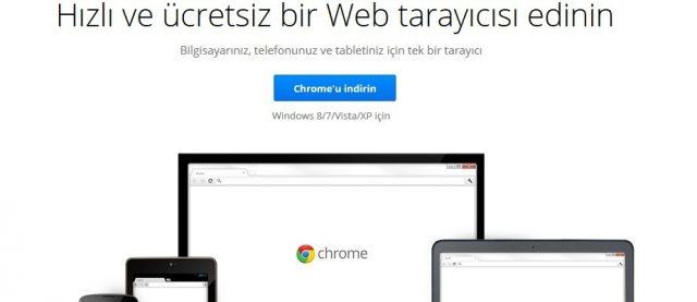 google chrome indir