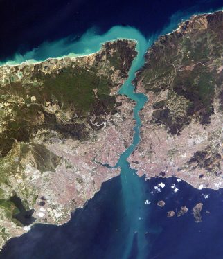 istanbul coğrafi haritası