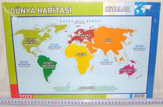 kıtalar haritası
