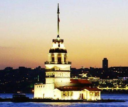 marmara bölgesi kız kulesi