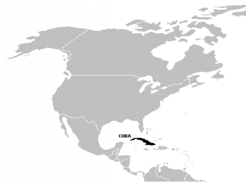 küba haritası