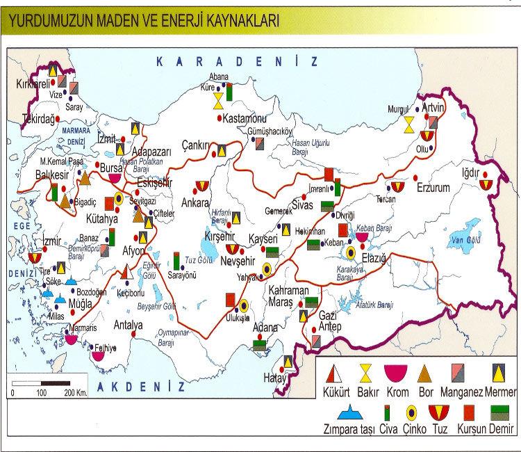 marmara bölgesi ekonomik faaliyetler haritası