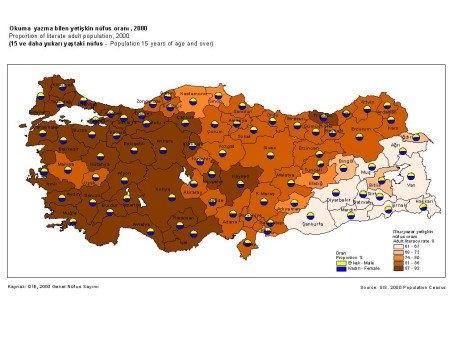 türkiye nüfus haritası