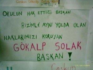 okul başkanlığı sloganları