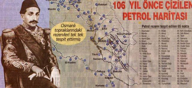 petrol haritası