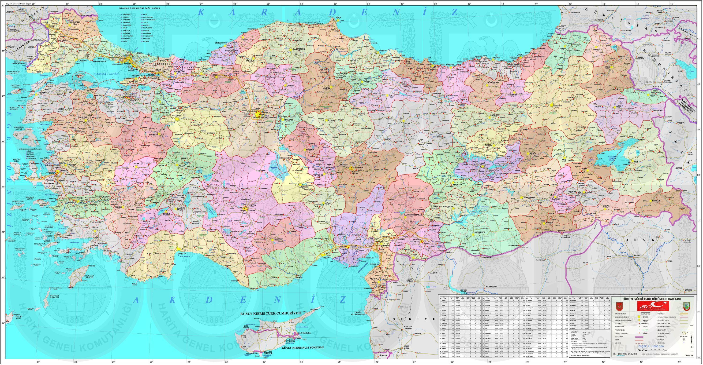 siyasi harita