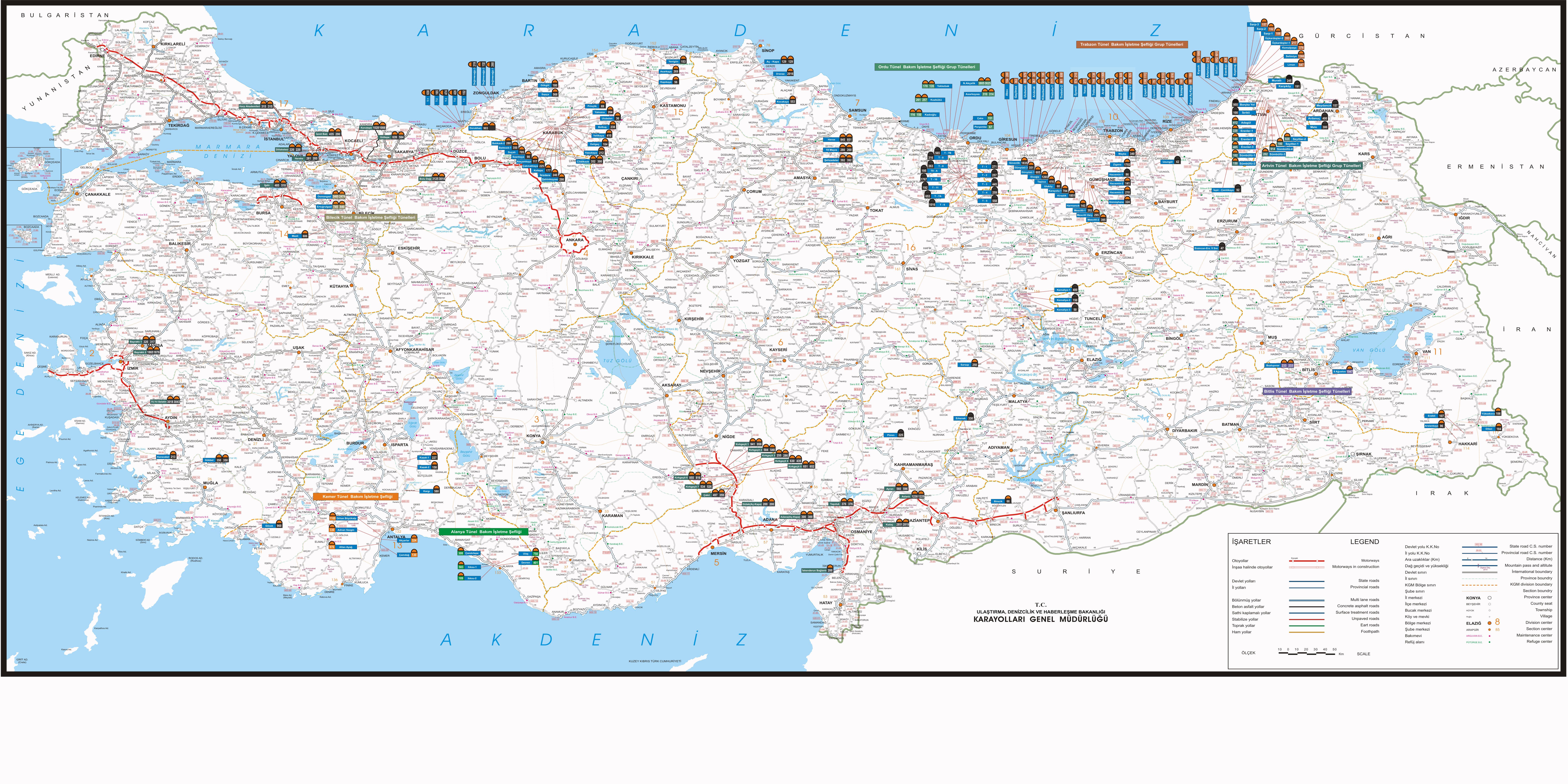 türkiye yol haritasi