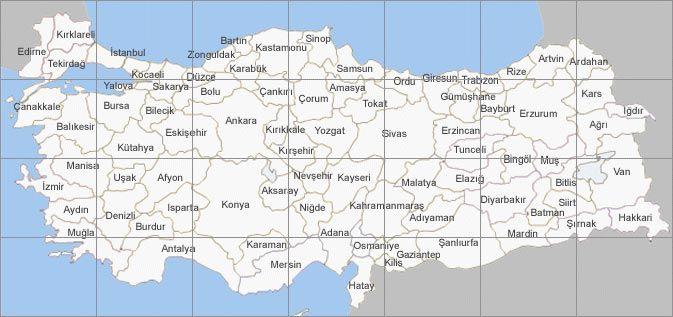 Türkiye Haritası Yol Denkbilgicom