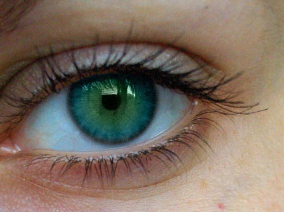 yeşil göz rengi